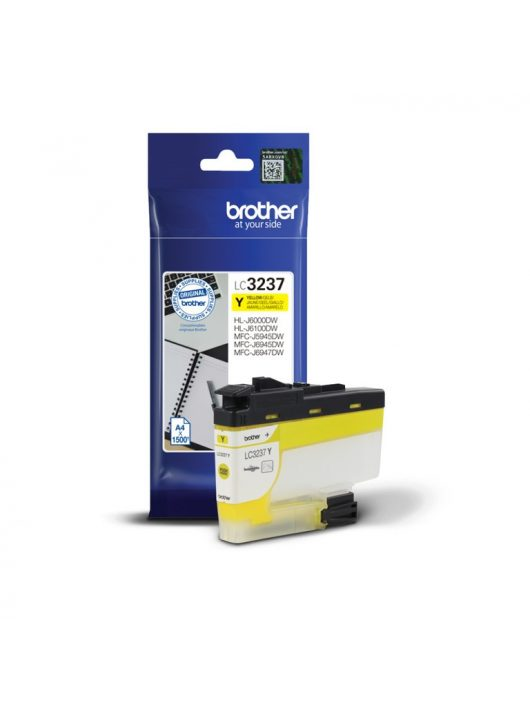 Brother LC3237Y tintapatron (Eredeti)