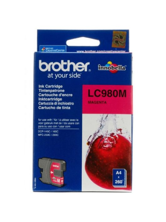 Brother LC980M tintapatron (Eredeti)