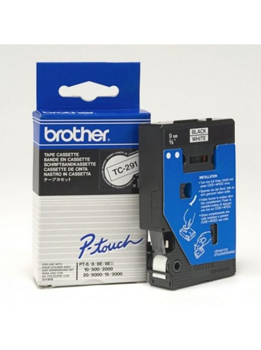 Brother TC291 szalag (Eredeti) Ptouch